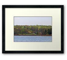 Spring in Maryland Framed Print