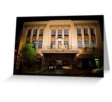 Pueblo Deco Architecture - The Kimo Theater, Downtown Albuquerque Greeting Card