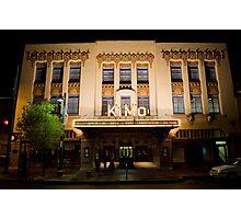 Pueblo Deco Architecture - The Kimo Theater, Downtown Albuquerque Photographic Print