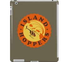 Island Hoppers /orange iPad Case/Skin