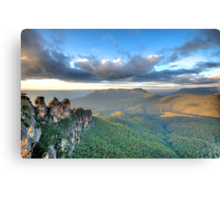 Sisters With A View - Blue Mountains World Heritage Canvas Print