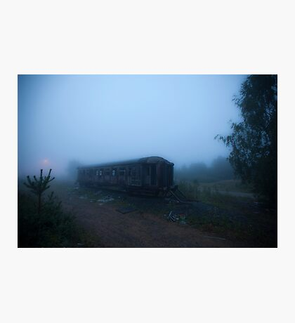 Ghost Train Photographic Print