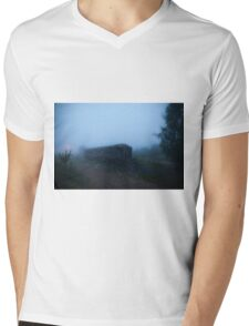 Ghost Train Mens V-Neck T-Shirt