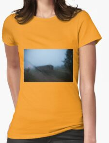Ghost Train Womens Fitted T-Shirt