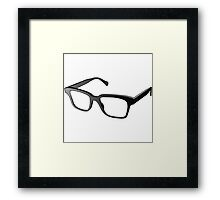 Glasses of Geek Framed Print