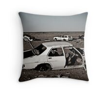 Australian outback old Kingswood Throw Pillow