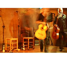 two flamenco guitarists Photographic Print