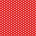 White Polka Dot Duvet 60s Austin Powers Bedspread by deanworld