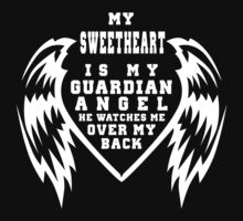 """""""My Sweetheart is my Guardian Angel, He watches over my back"""" Collection #210035B by mycraft"""