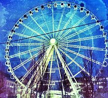 The Ferris Wheel by sally williams