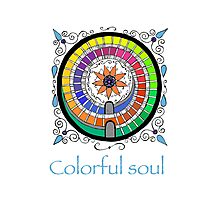 Colorful Soul Photographic Print