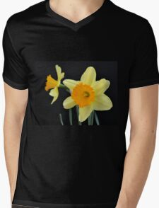 A Pair of Daffodils Mens V-Neck T-Shirt