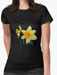 A Pair of Daffodils Womens Fitted T-Shirt