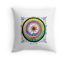 Colorful Soul II Throw Pillow