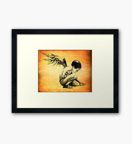 Blood Of Angels Framed Print