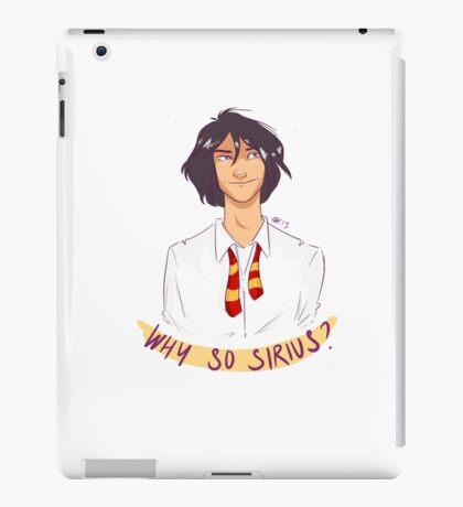 Why So Sirius iPad Case/Skin
