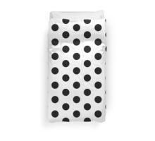 Black and White Dalmatian Polka Dot Duvet Bedspread Duvet Cover