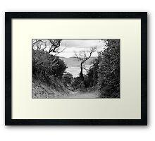Mystic Beach Framed Print