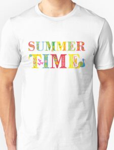 summer time (happy type) T-Shirt