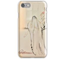 Anna Bridal Peach Pink iPhone Case/Skin