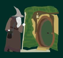 Theres a Wizard at the Door by slaterkerry