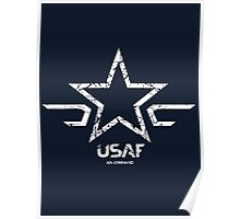 USAF - US Air Force Command  Poster