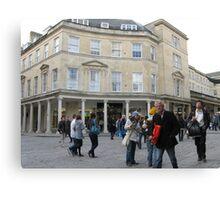 THE STREETS OF BATH ENGLAND Canvas Print