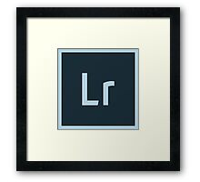 Lightroom 5 Framed Print