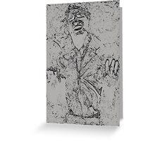 Han Solo Carbonite Greeting Card