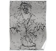 Han Solo Carbonite Poster