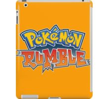 Pokemon Rumble iPad Case/Skin