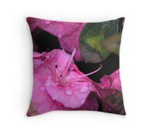 Purple Morning Throw Pillow