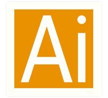 Ai - Illustrator Art Print