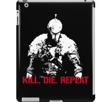 Kill, die, repeat iPad Case/Skin