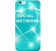Social Network.  iPhone Case/Skin