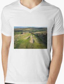 Kisdon Hill Muker Mens V-Neck T-Shirt