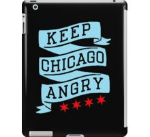 Keep Chicago Angry iPad Case/Skin