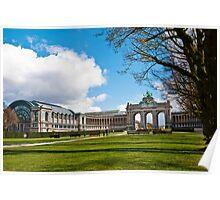 Parc Cinquantenaire - Brussels, Belgium Poster