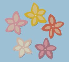 Indian Summer flowers Baby Tee