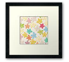 Indian Summer flowers Framed Print