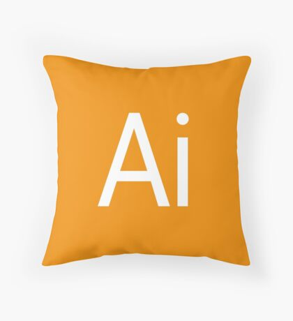 Ai - Illustrator Throw Pillow