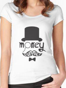 Moneyrunner T-Shirt Women's Fitted Scoop T-Shirt