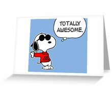 Snoopy Joe Cool Greeting Card