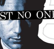TRUST * NO * ONE Sticker