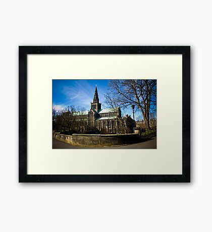 View on Glasgow Cathedral Framed Print