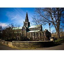 View on Glasgow Cathedral Photographic Print