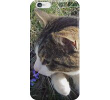 Stop and Smell the Flowers iPhone Case/Skin
