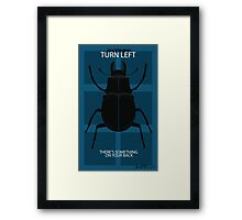 There's Something On Your Back Framed Print