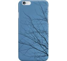 Eclipsed Tree - Blue Tree Version iPhone Case/Skin