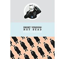 #sherlocklives Photographic Print
